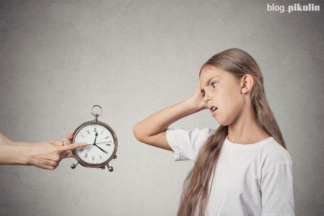 Errores que impiden el sueño de los niños