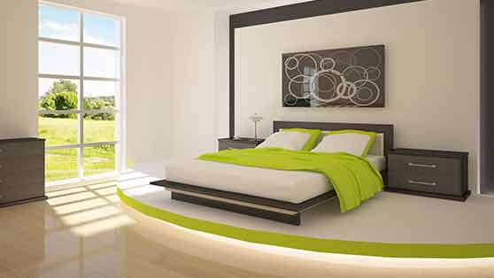 Usar el dormitorio solo para dormir