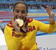La nadadora Teresa Perales