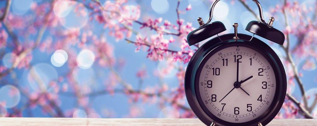 Mudança de hora: chega o horário de verão!
