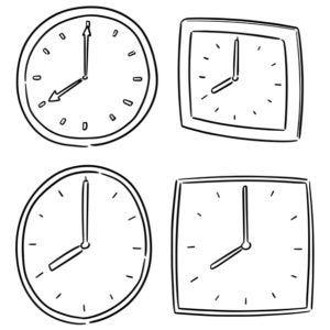 Horas de descanso infantil