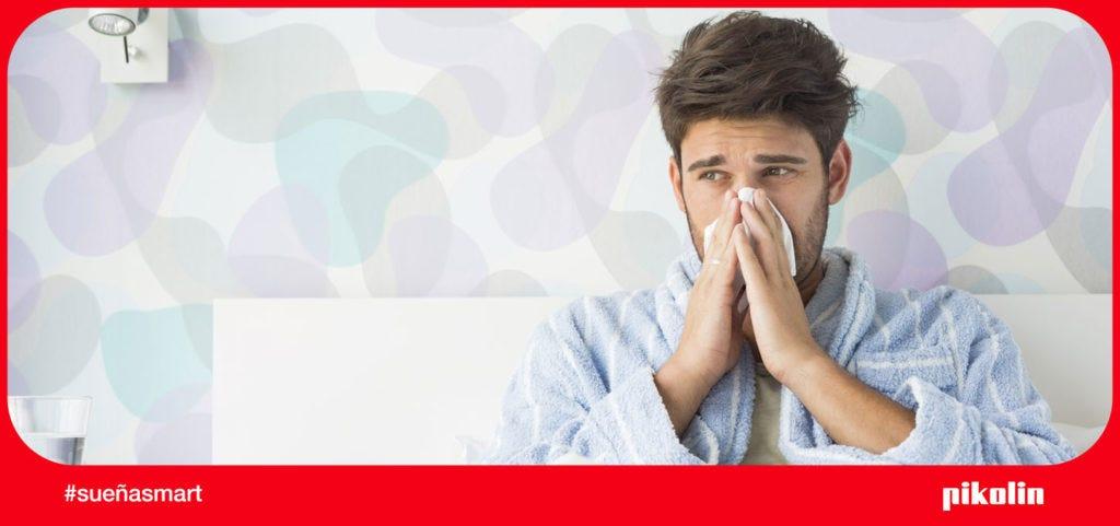 Dormir bien siendo alérgico