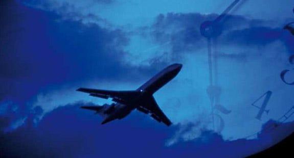Jet lag, compañero de viaje