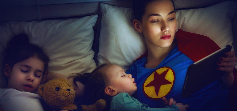 pantallas-electronicas-niños-dormir