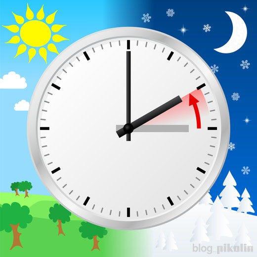 Mudança de hora - Uma mais para dormir!