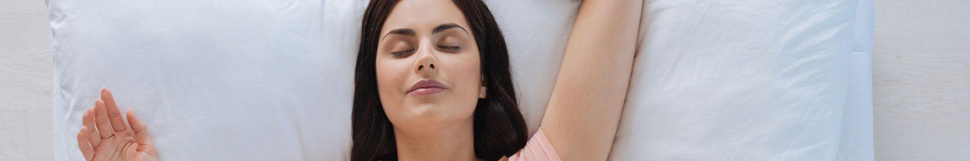 Almohadas para dormir boca arriba