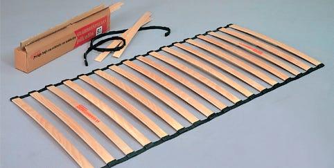 Láminas de madera para somieres
