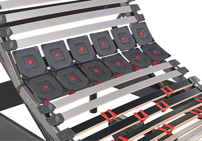 Base articulada electrica tapizada