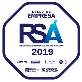 Sello de Responsabilidad Social de Aragón (RSA) 2019